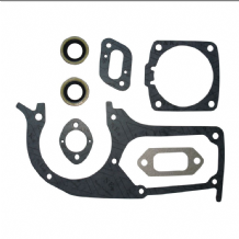 HUSQVARNA 394 394XP 395 395XP GASKET SET WITH CRANK SEALS NEW